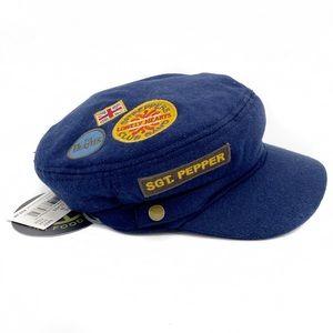 Junk Food Sargent Pepper Beatles Hat Navy Size M/L
